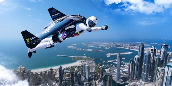 Adventurous - jetman-yves-rossy- Dubai