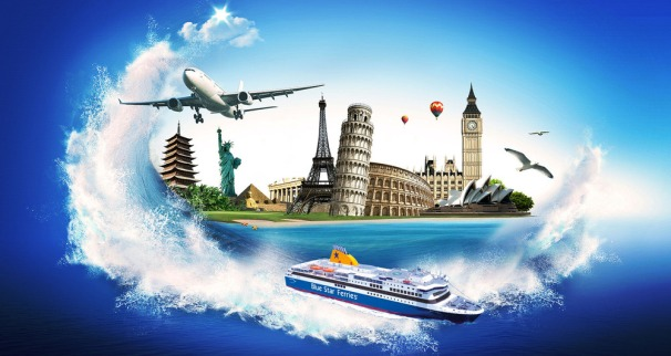 Adventurous - travel the world and the seven seas