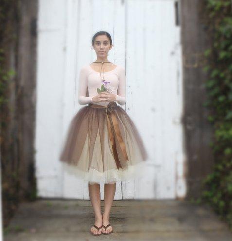 Soft - Tulle skirt