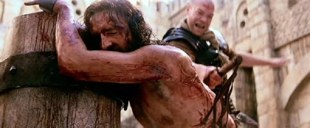Christ being scourged