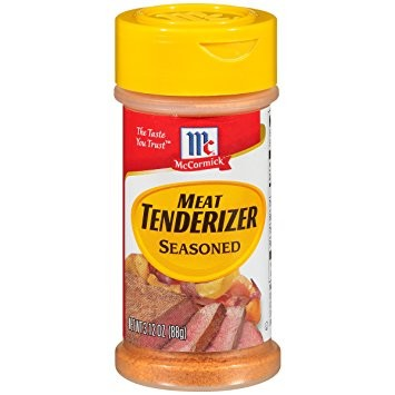 seasoned meat tenderizer