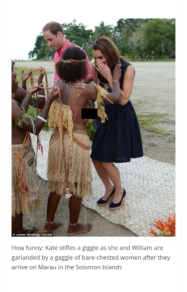Will and Kate Solomon Islands edited